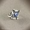 Кольцо Королевский синий